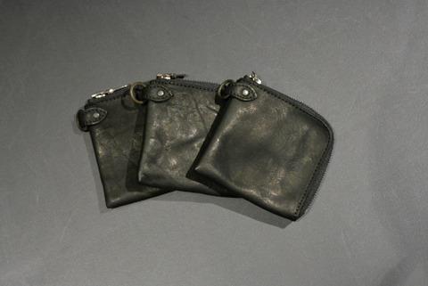 イサムカタヤマバックラッシュ 318-15 ダブルショルダー製品染め 財布