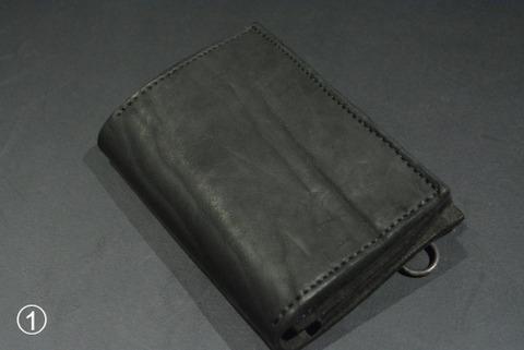 イサムカタヤマバックラッシュ ダブルショルダー製品染め 財布 318_03