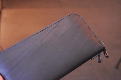 イサムカタヤマバックラッシュ 345-15 GUIDIオイルカーフ 長財布