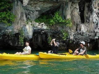 プーケット タイ 観光ツアー セルフパドル カヌー