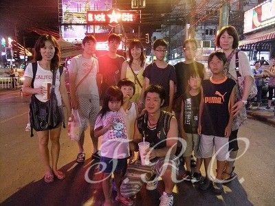 ナイトツアー夜遊びタウンナイトナイトライフプーケット