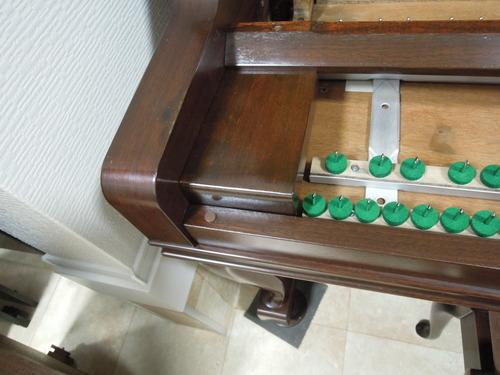佐藤さんのピアノの塗装 003