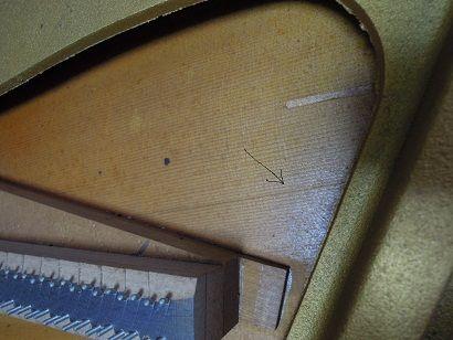 U3H響板割れ 002