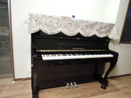 野村家具さま納品と吉川さんのピアノ 002