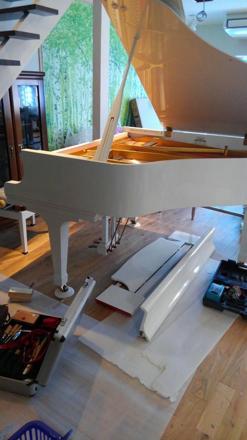 小中さんのピアノ