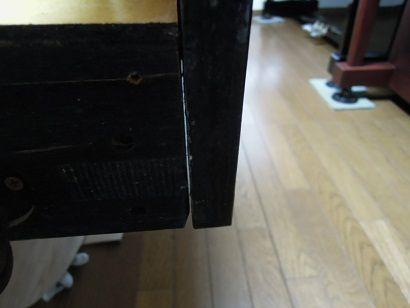 オルガンの鍵盤 001
