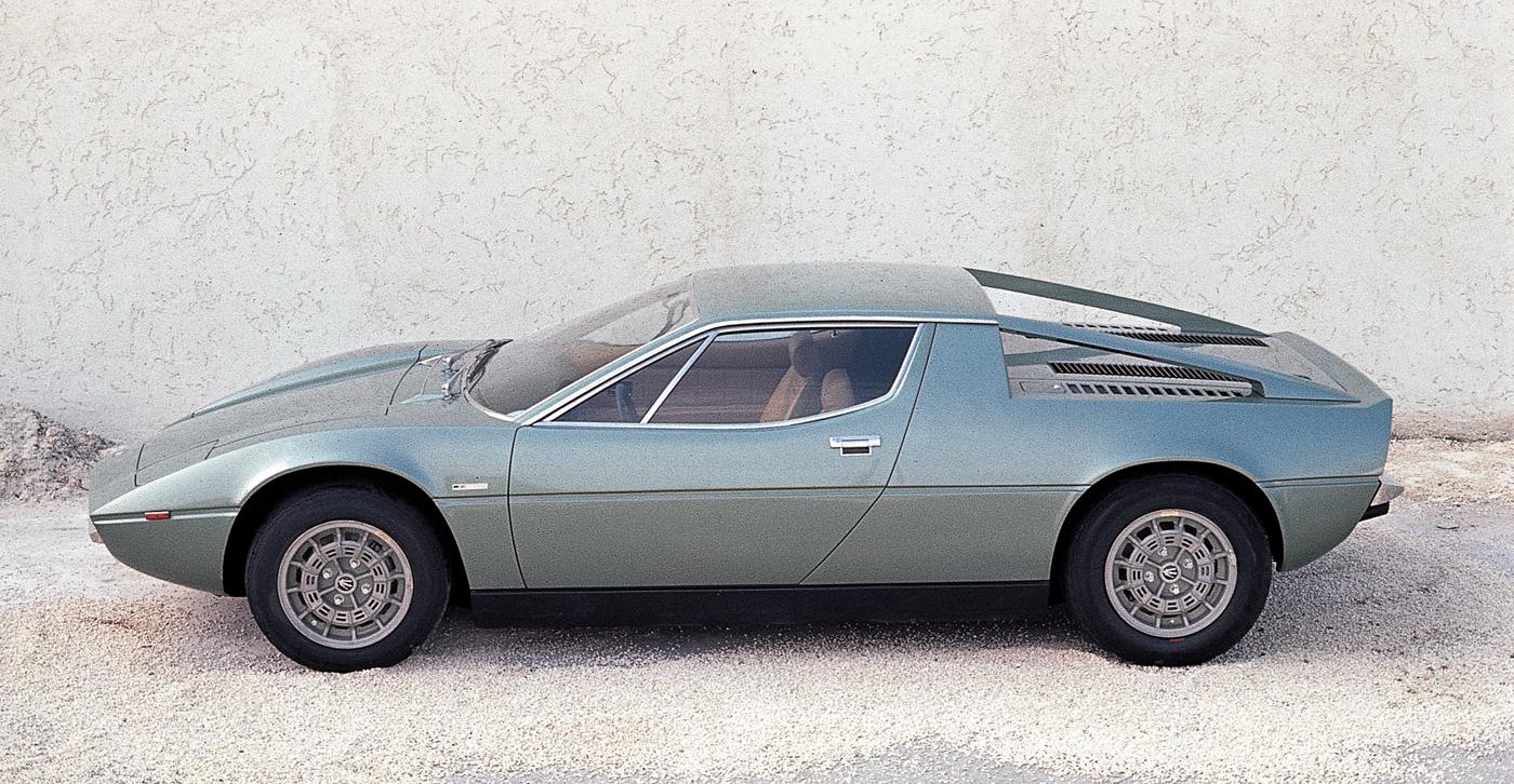 ジウジアーロ と いすゞピアッツァ:1972 - Maserati Merak