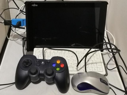 USBハブ使用
