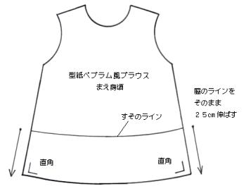 ぺプラムアレンジ (2)