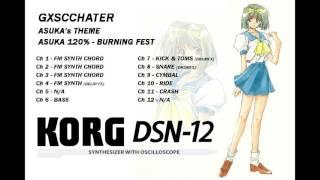 DSN-12 Asuka 120% - Burning Fest - Asuka Honda theme