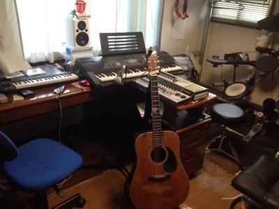 自室スタジオ