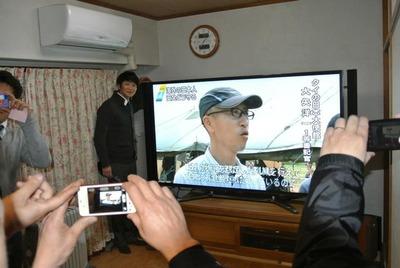 大型テレビ設置2