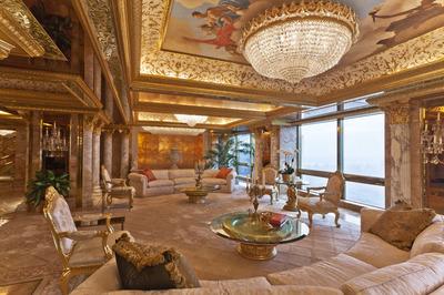 マンハッタンの高級アパートメント