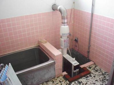 古いお風呂