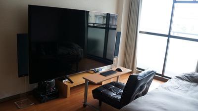 大型テレビ設置3