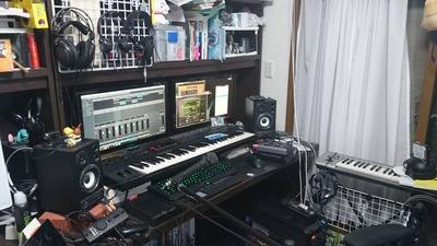 自室スタジオ3