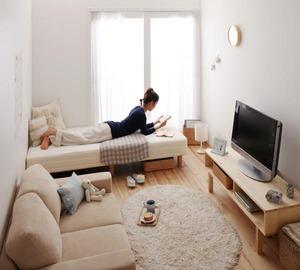 一人暮らしの女性の部屋