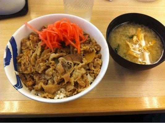 松屋 牛丼 大盛り