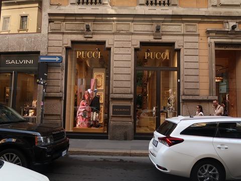 女性モード中心Pucci201809Mナポ