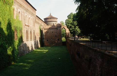 198808ミラノS城の風景 (3)