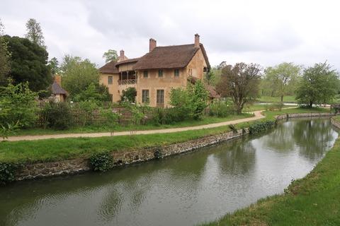 VersaillesPetit Trianon王妃の家の裏から