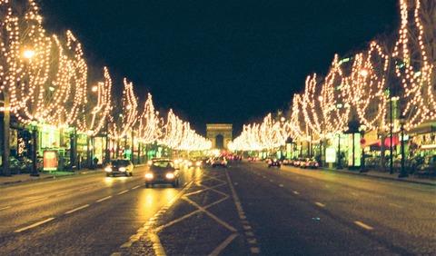 凱旋門シャンゼリゼ聖夜199512