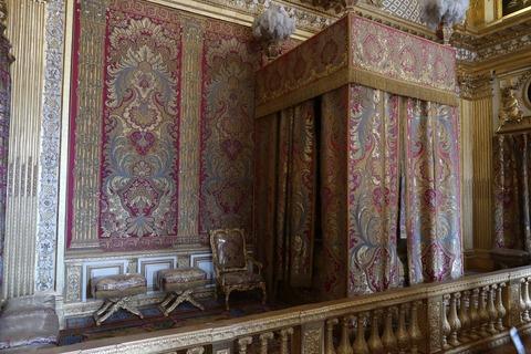 Versailles166ルイ14世の寝室