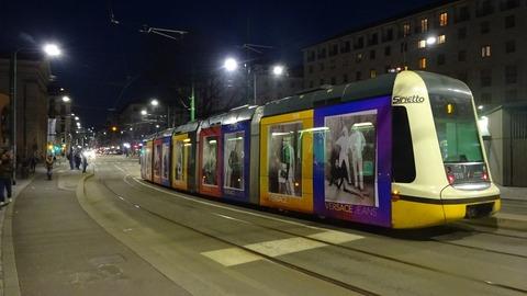 電TミラノNaviglioのベルサーチ電車7500形201803 (1)