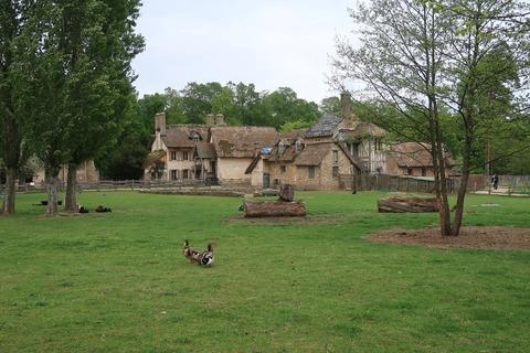 VersaillesPetit Trianon442疑似農家と家禽たち