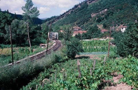 FEVEバルマセダまでもうすぐの鉄橋1990年7月