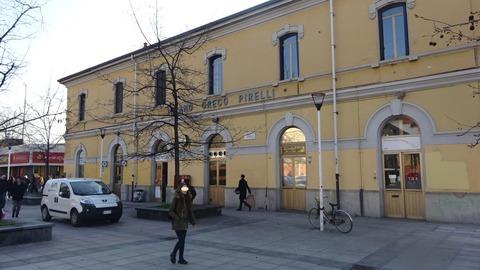 駅舎ミラノグレコピレリMar2018