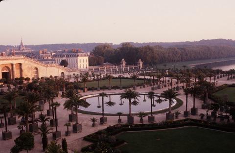 Versailles203夕焼けオランジュリー夏とスイス池198609