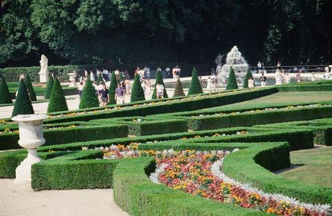 Versailles212D夏のベルサイユ庭園風景199007