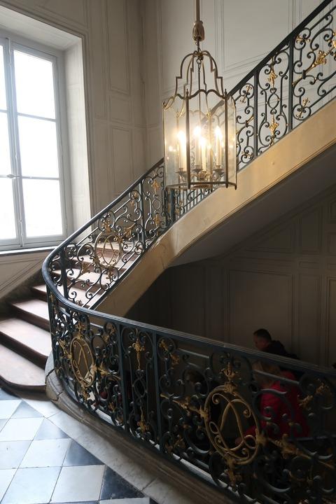 Versailles112王の私室への裏階段