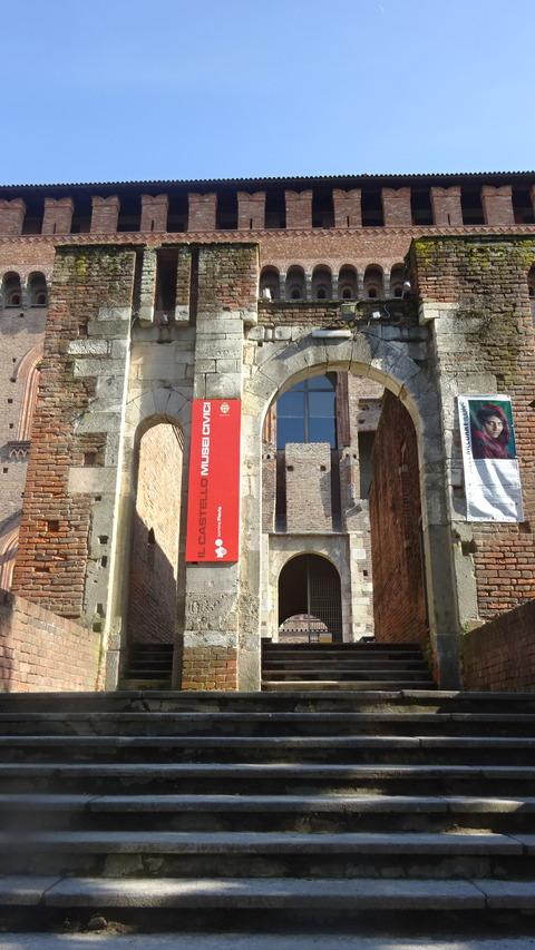 パヴィア城と市立美術館