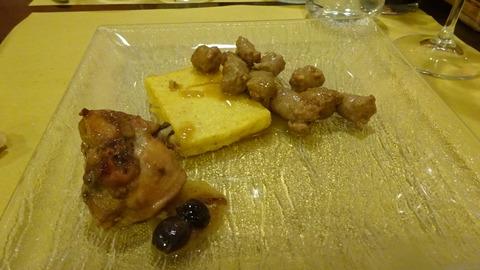 食PパヴィアTAの鹿肉とポレンタ2018