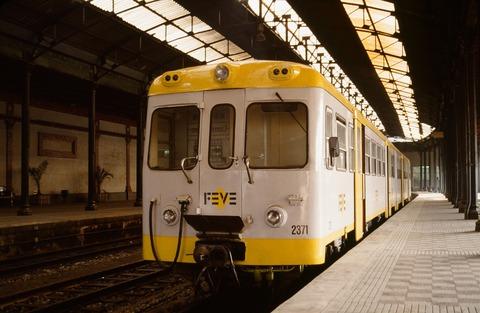 FEVEビルバオAchurli駅DC1990年7月