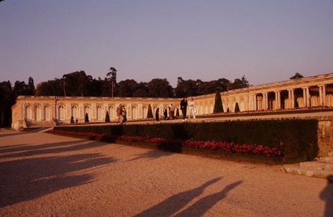 VersaillesGrandTrianon311夕陽の庭園198609