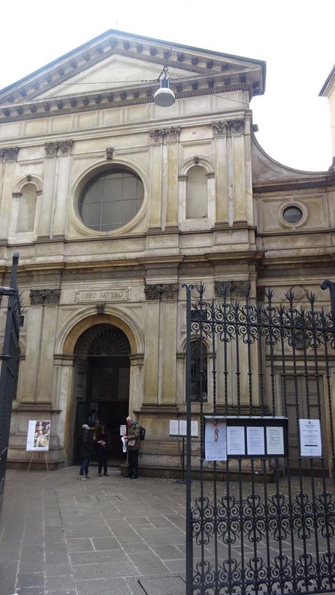 DMサンサティロ教会入口2018