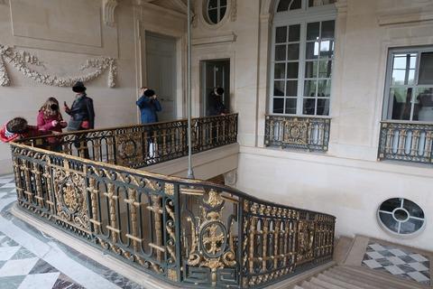 VersaillesPetit Trianon406メイン階段で2階