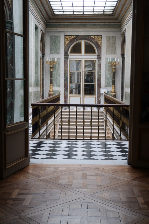 Versailles111b大使の階段反対側