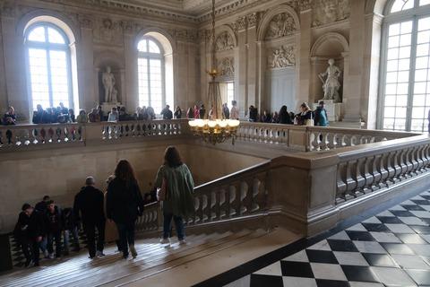 Versailles179出口への南翼大階段