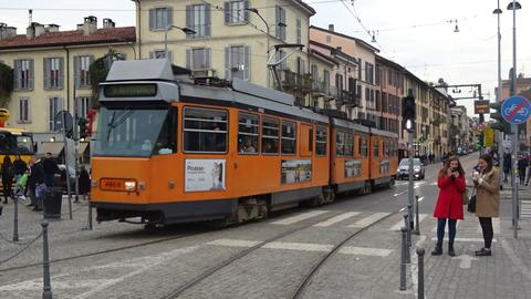 電Tミラノのトリノ通3系統4700形