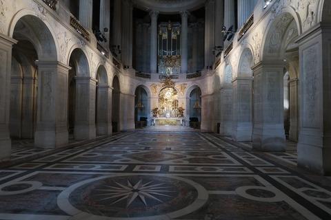 Versailles132王の礼拝堂正面