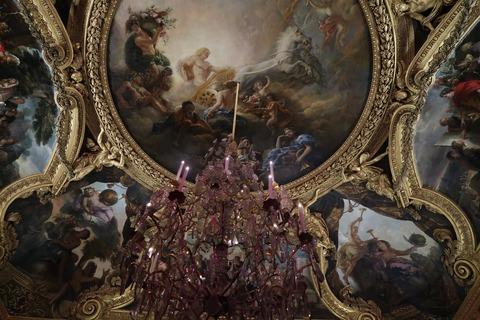 Versailles国王の間天井