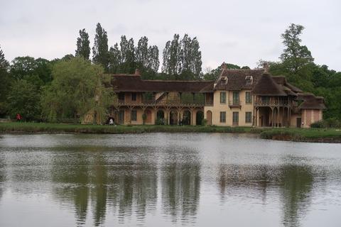 VersaillesPetit Trianon王妃の家アップ