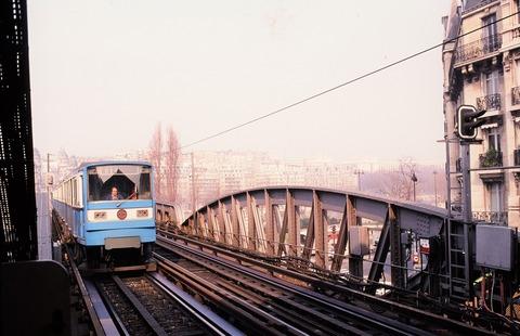 P31ビールアッケイムの6号線電車198608