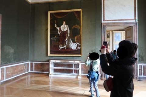 Versailles175ナポレオンの肖像