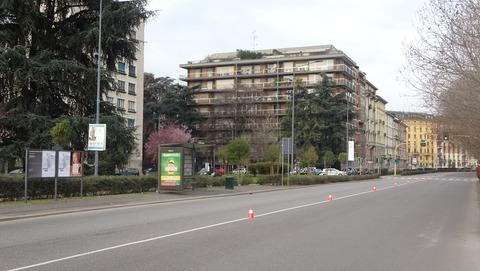 Buonarotti地区高級住宅の道2018