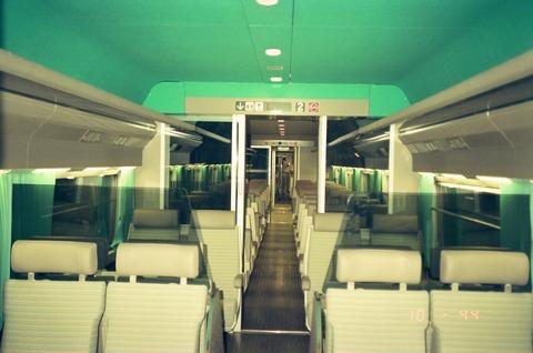 TGVアトランティック2等車内旧モデル199007